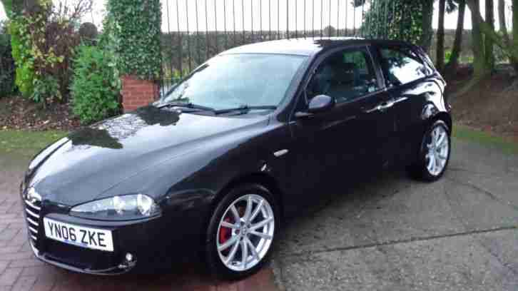 alfa romeo 147 1 9jtdm 16v lusso 2006 06 69k full unmarked leather. Black Bedroom Furniture Sets. Home Design Ideas