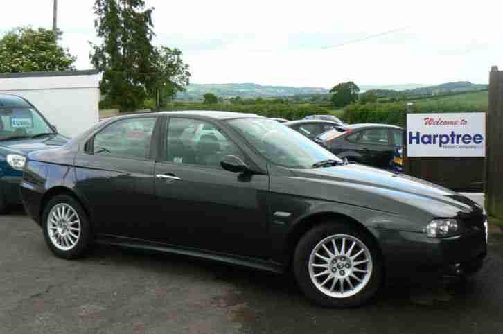 alfa romeo 156 1 8 t spark veloce petrol manual grey car for sale. Black Bedroom Furniture Sets. Home Design Ideas