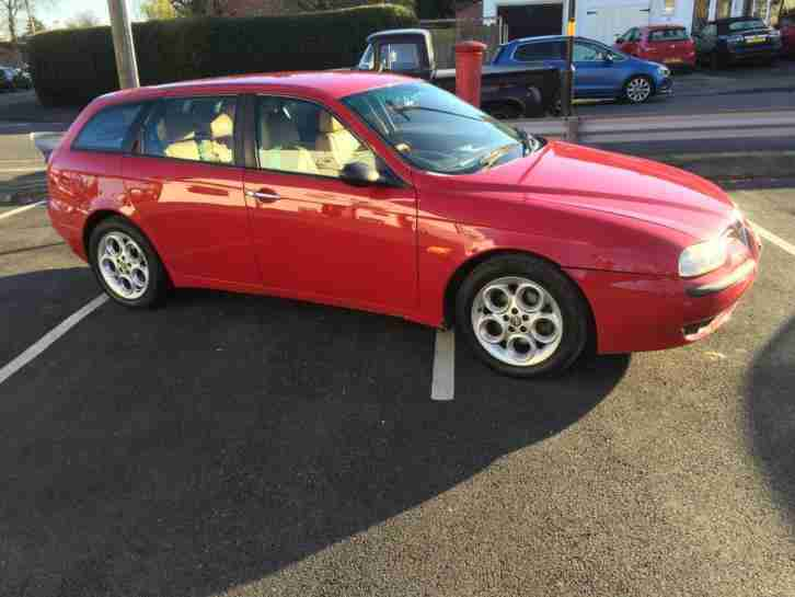 Alfa Romeo 156 2.5 V6 Sport 2 Est Sportwagen 6 speed man 124k Please read Advert