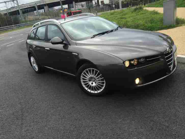 alfa romeo 159 jtdm 2 4 diesel sportwagon lusso car for sale. Black Bedroom Furniture Sets. Home Design Ideas