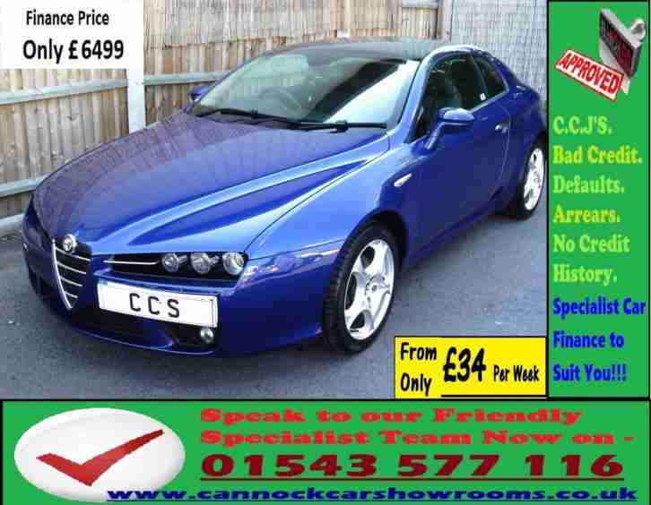 Alfa Romeo Brera 2.2JTS SV GUARANTEED CAR FINANCE