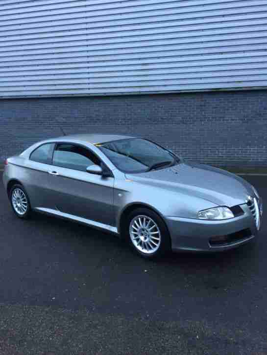 alfa romeo gt coupe grey 1 9 16v jtd 2005 car for sale. Black Bedroom Furniture Sets. Home Design Ideas