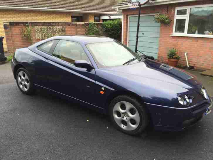 Alfa Romeo GTV Twin Spark (TS) 2.0 16v - Tan Leather FSH 87k Miles NOT 3.0 V6