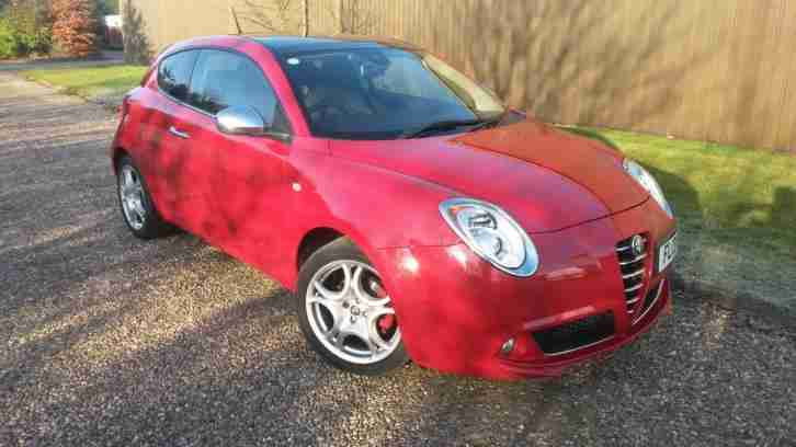 alfa romeo mito 1 6jtdm 120bhp 2011my distinctive car for sale. Black Bedroom Furniture Sets. Home Design Ideas