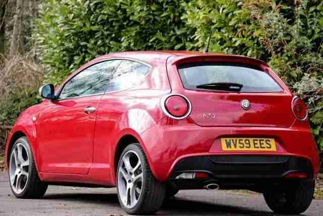 Alfa Romeo Mito 1.6 JTDM DIESEL Veloce 120 BHP 6 SPEED MANUAL 3dr LEATHER BOSE