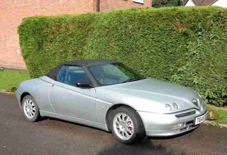 Alfa Romeo Spider. Alfa Romeo car from United Kingdom