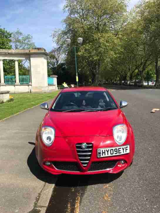 Alfa mito 1.4 with custom exhuast