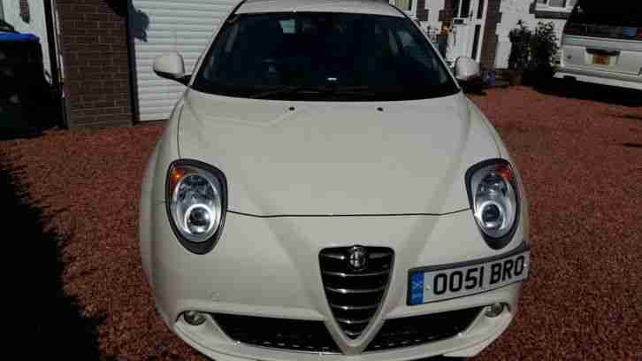Alfa mito JTDM. Alfa Romeo car from United Kingdom