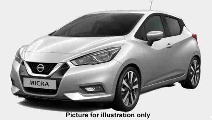 Nissan All New. Nissan car from United Kingdom