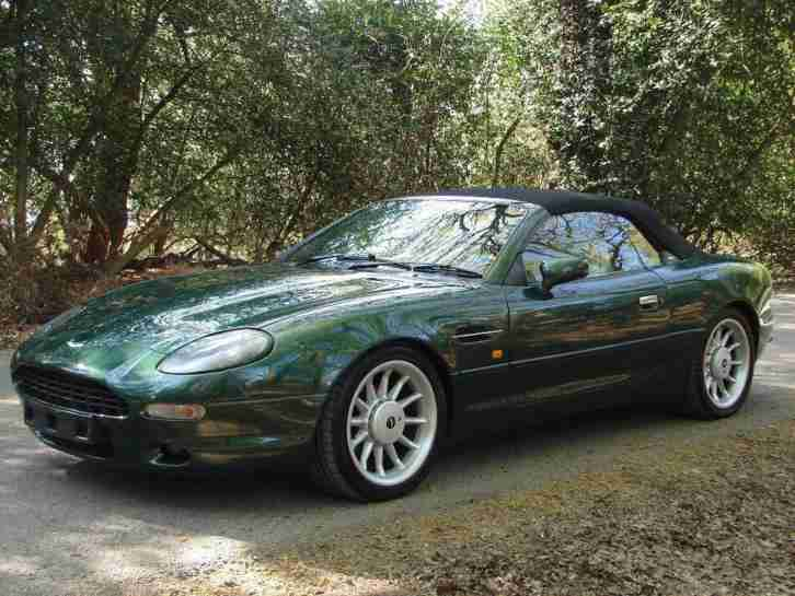 aston martin db7 3 2 2dr petrol automatic 1997 p car for sale. Black Bedroom Furniture Sets. Home Design Ideas
