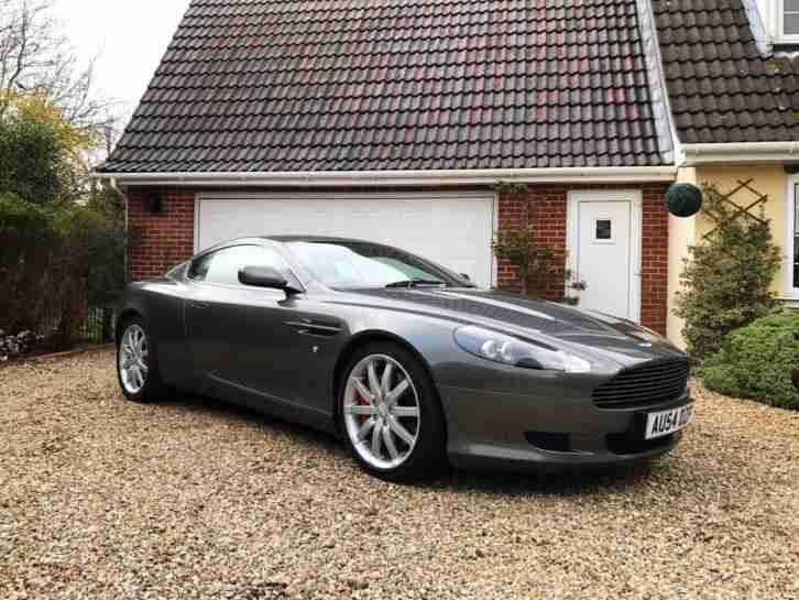 DB9 5.9 6 spd auto with paddle