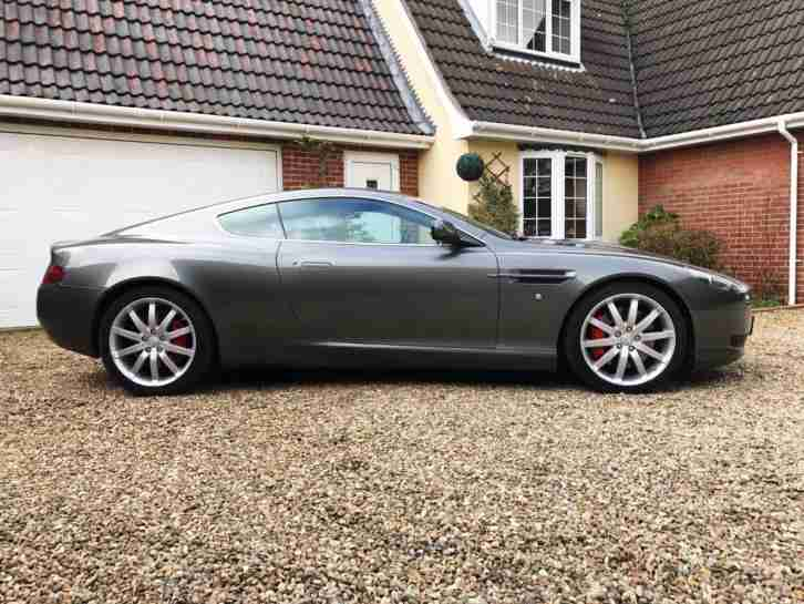 Aston Martin DB9 5.9 6 spd auto with paddle shift transmission