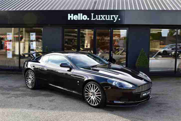 Aston Martin DB9 5.9 Coupe Black SPECIAL ONE OFF EXAMPLE 2006