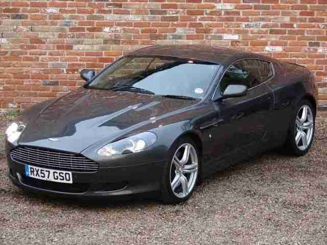Aston Martin DB9 5.9 Seq 2dr SAT NAV - BLUETOOTH - AIR CON PETROL 2007