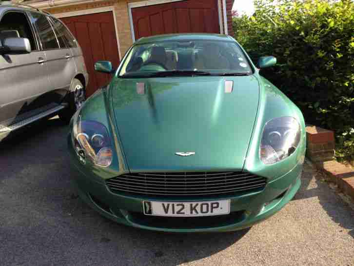 Aston Martin Db9 5 9 Seq Rare Am Racing Green With Recent New Engine