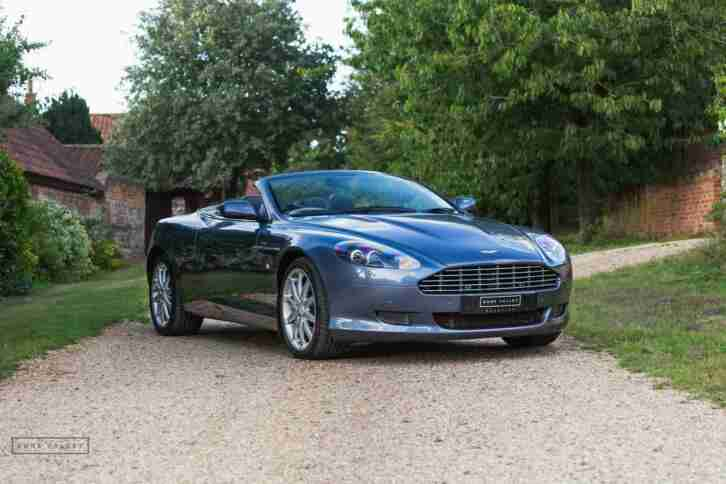 Aston Martin DB9. Aston Martin car from United Kingdom