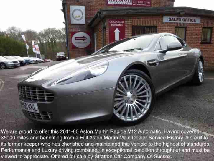 Aston Martin Rapide V Dr PETROL AUTOMATIC Car For Sale - Aston martin rapide for sale