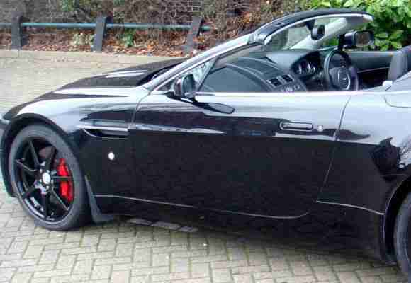 Aston Martin V8 Cabriolet- **FOR HIRE ONLY-NOT FOR SALE**