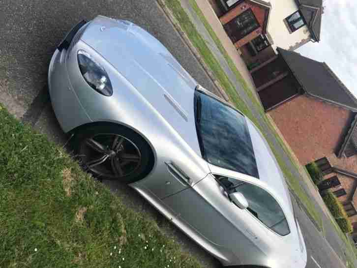 Aston Martin V8 Vantage N400 Limited Edition in Lightening Silver - Rare car