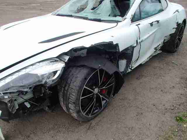 Aston Martin vanquish 2013 breaking/ track car / export