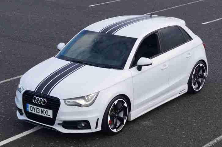 audi a1 1 4 tfsi sportback s tronic sline 185bhp black. Black Bedroom Furniture Sets. Home Design Ideas