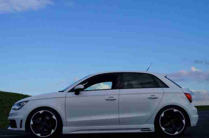 Black And Silver Mags >> Audi A1 1.4 TFSI Sportback S tronic Sline 185bhp Black Edition. car for sale