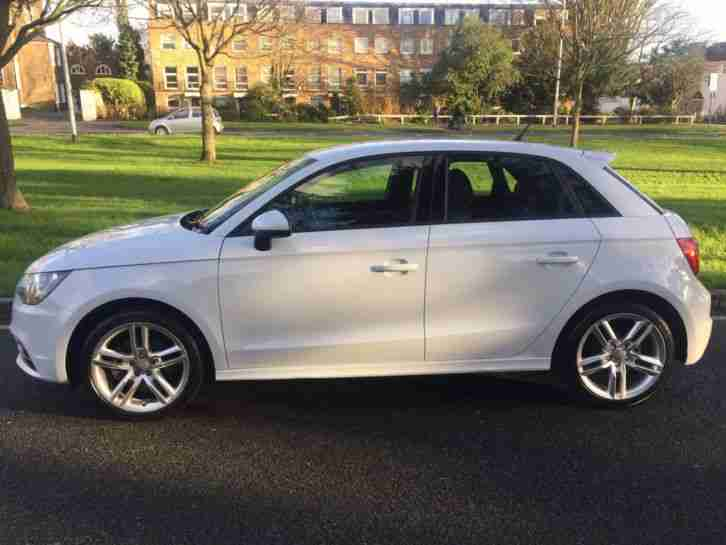 Audi A1 Tfsi 2014 S Line 5 Door Hatch In Gleaming White Not Damaged