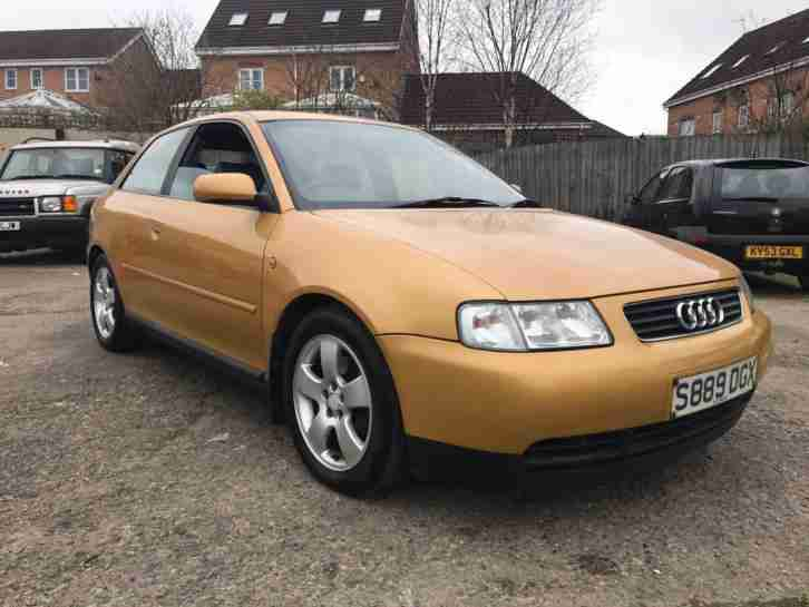 A3 1.8 T Sport 3 DOOR 1998 S REG NO