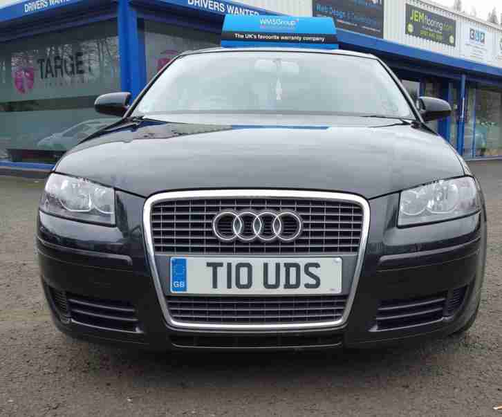 Audi A3 1.9TDI Special Edition Sportback 2007 In Black