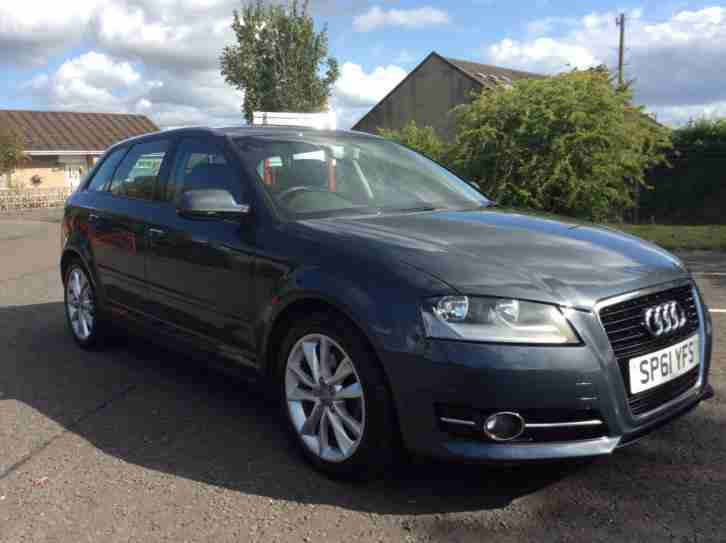 Audi A3 2.0T FSI Sportback Sport 1owner fash heated leather
