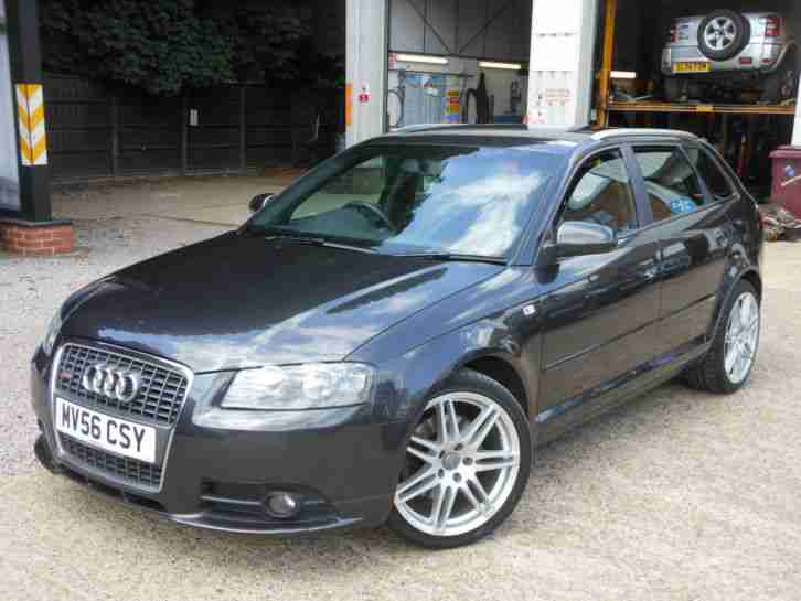 audi a3 2 0tdi 170ps sportback 2007my quattro s line car for sale. Black Bedroom Furniture Sets. Home Design Ideas