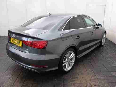 Audi A3 2.0TDI S LINE 4 DOOR SALOON 150BHP NEW MODEL 1