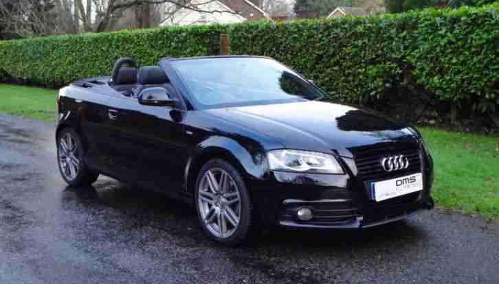 Audi A3 Cabriolet 2 0tfsi S Line With S Tronic 2010my Black Edition