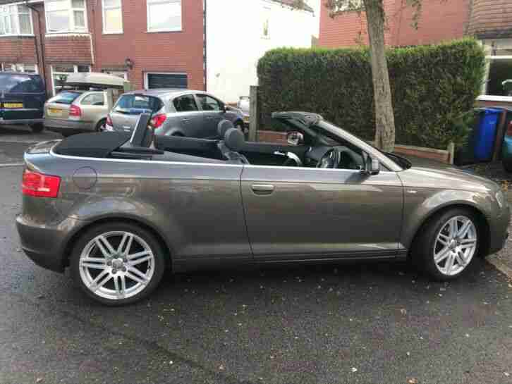 Audi A3 Cabriolet. Audi car from United Kingdom