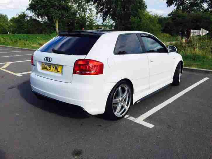 audi a3 s3 rs3 2009 3door sportsbody white remapped. Black Bedroom Furniture Sets. Home Design Ideas