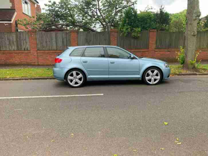Audi A3 TDI. Audi car from United Kingdom