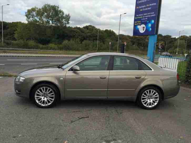 Audi A4 1.9TDI 2007MY SE WITH SAT/NAV AND FULL SERVICE HISTORY 2007