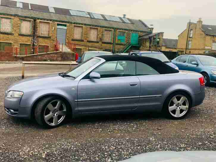 Audi A4 2.0 TDI S Line Cabriolet