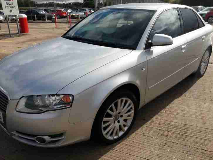 Audi A4 2.0TD 2007 SE DIESEL 4DR ALLOYS PRIVACY GLASS