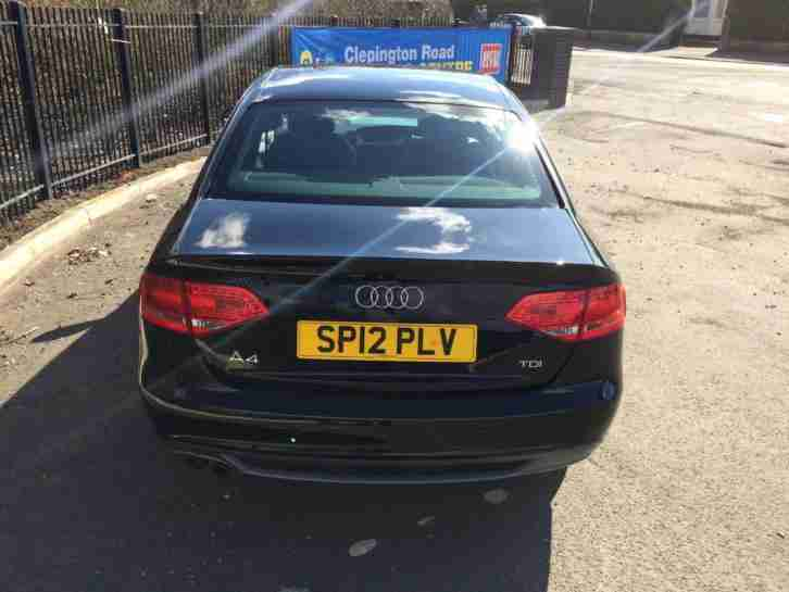 Audi A4 2.0TDI ( 143ps ) Multitronic 2012MY SE