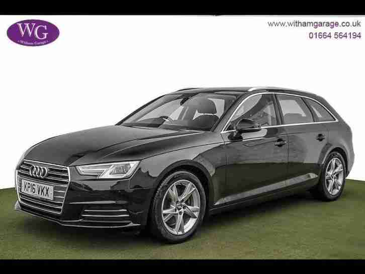 Audi A4 Avant. Audi car from United Kingdom