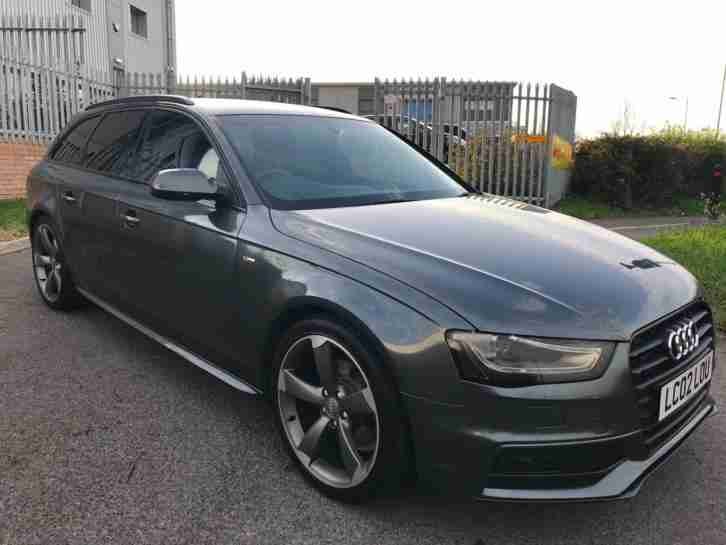 Audi A4 Avant 2.0TDI ( 177ps ) 2013MY Black Edition