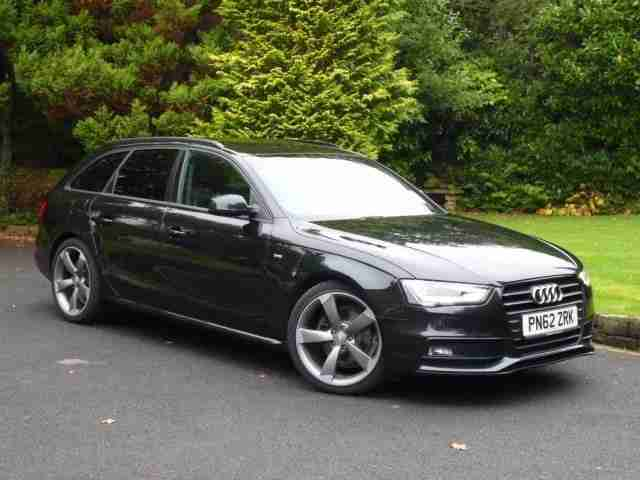 audi a4 avant tdi s line black edition car for sale. Black Bedroom Furniture Sets. Home Design Ideas