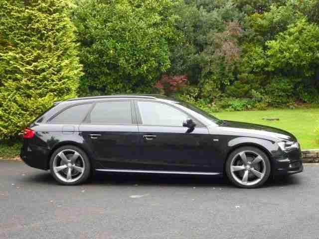 Audi A4 Avant Tdi S Line Black Edition Car For Sale