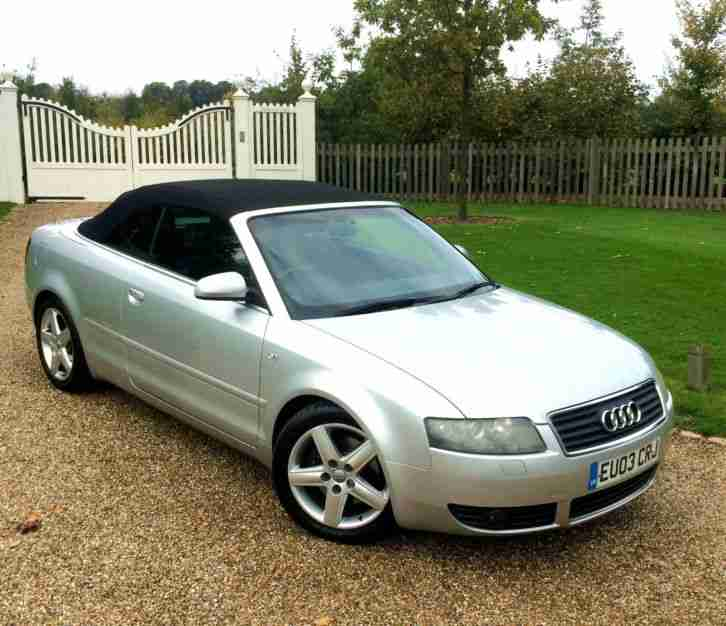 Carmax Acura: Audi A4 CONVERTIBLE CABRIOLET 3.0L VERY CLEAN CAR WITH