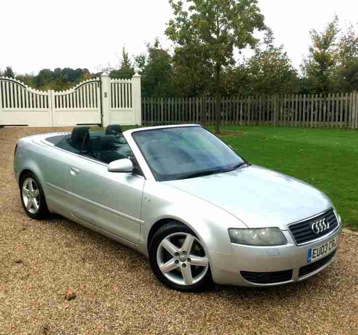 Audi A4 CONVERTIBLE CABRIOLET 3.0L VERY CLEAN CAR WITH