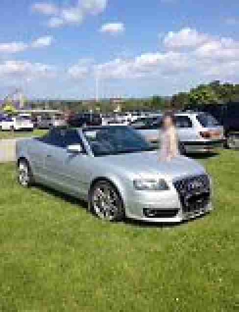 Audi A4 Cabriolet 2.5TDI S-Line