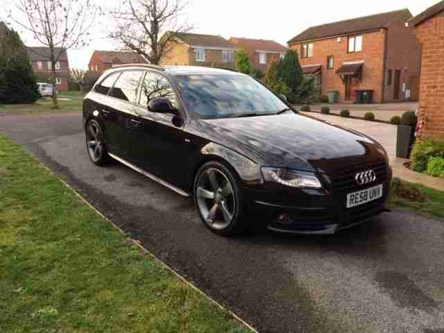 Audi A4 Estate S-Line TDI 170 Black