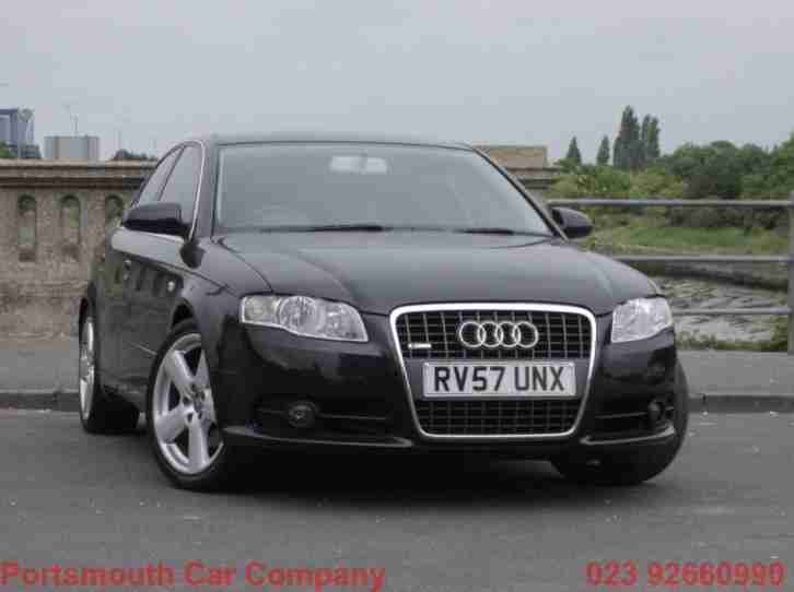 Audi A4 TDi. Audi car from United Kingdom