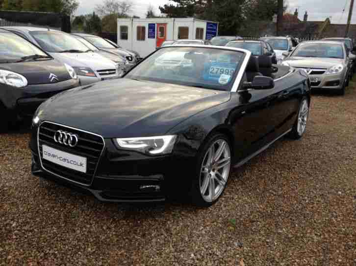 Audi A5 2.0 TDI 177 S Line Special Edition 2dr Multitronic 2013 13 REG